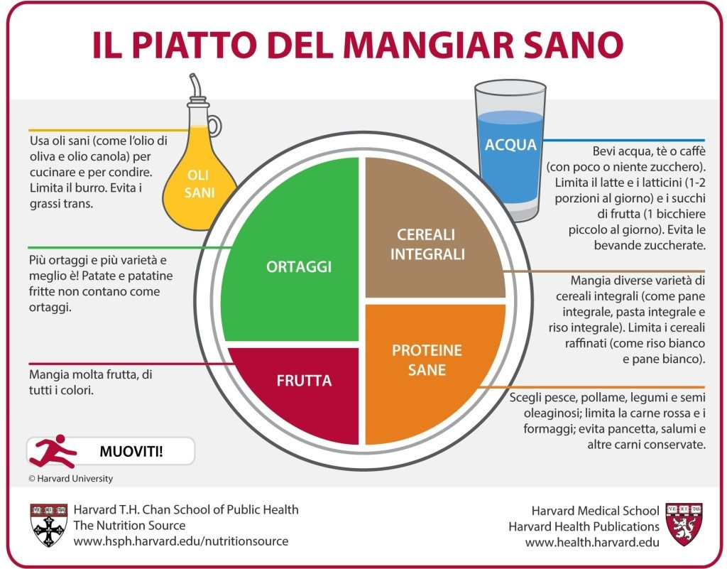 Fonte: https://www.hsph.harvard.edu/nutritionsource/healthy-eating-plate/translations/italian/